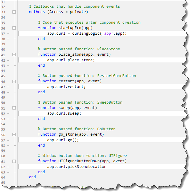 App Designer Code View