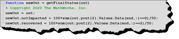 Post Simulation Function