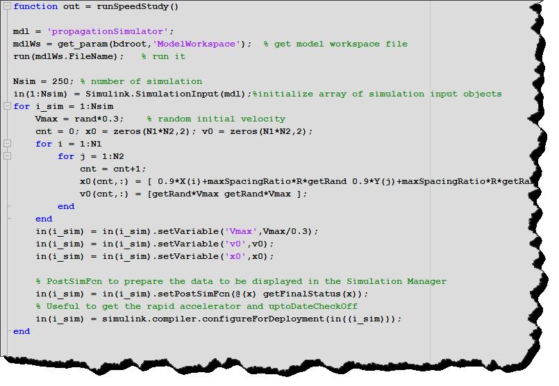 Preparing simulation inputs