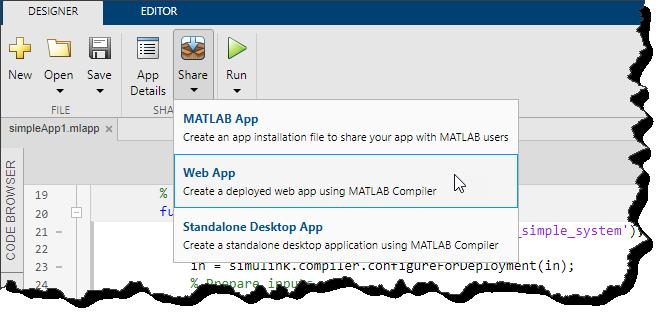 Packaging a Web app