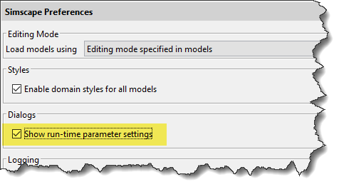 Simscape preferences