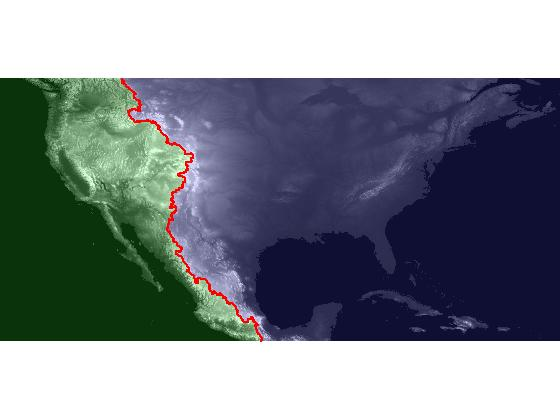 Locating The US Continental Divide Part Introduction Steve - Interactive map of the continental divide in the us