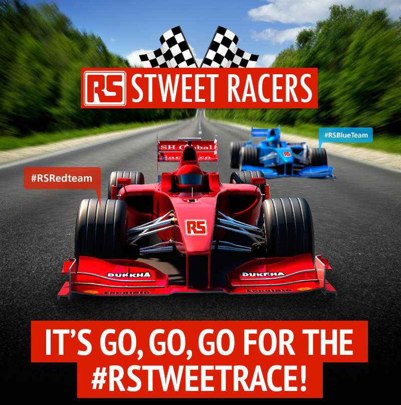 RS Components Twitter Race