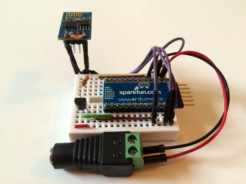 ThingSpeak WiFi Temperature Logger