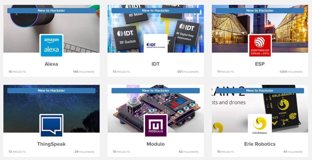 Hackster Platforms