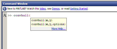 MATLAB Function browser